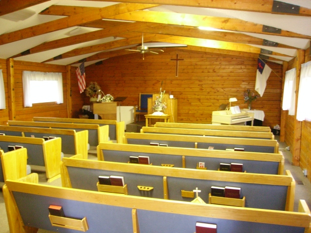 inside worship area